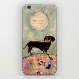 Hank the amazing Doxie iPhone Skin