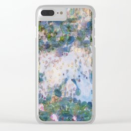 Garlic Lilies Water Lilies Fine Art Parody Clear iPhone Case