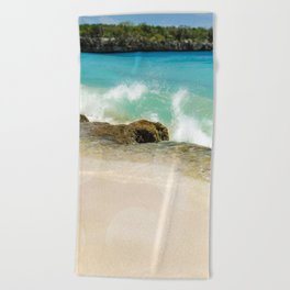 Crash Beach Towel