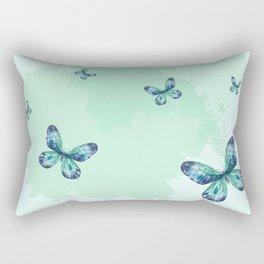 Butterflies III Rectangular Pillow