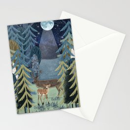 the secret forest Stationery Cards
