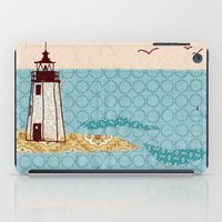 lighthouse iPad Cases featuring Lighthouse by Alli Coate