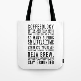 Coffeeology Tote Bag
