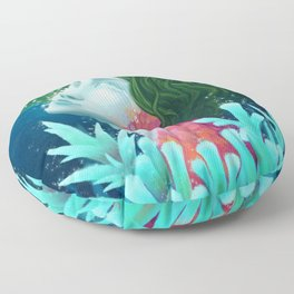 Fading :: Mother Earth Floor Pillow