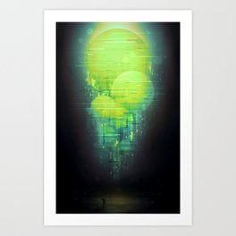 The Peridots Art Print