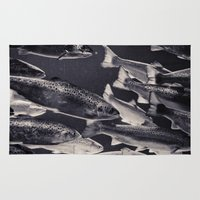 swim Area & Throw Rugs featuring Swim by Marte Stromme