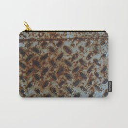 Rusty Metal Step Carry-All Pouch