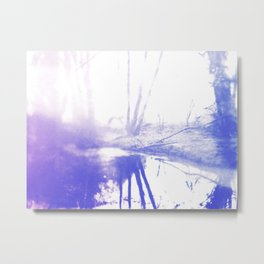 Looking for answers and things that go unsaid Metal Print