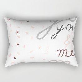 u&m Rectangular Pillow