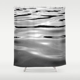Water one Shower Curtain