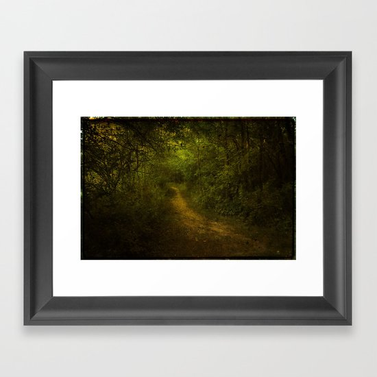 If You go Down to the Woods Today... Framed Art Print