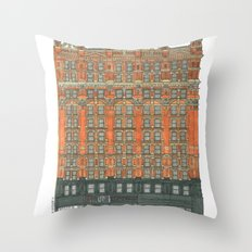 Don't Forget to Look Up: Potter Building Throw Pillow