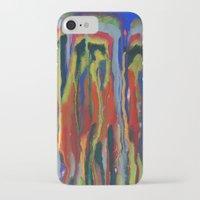 waterfall iPhone & iPod Cases featuring WATERFALL by Uta Krauss