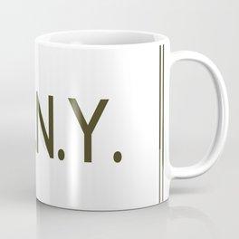 Touch Of New York Coffee Mug