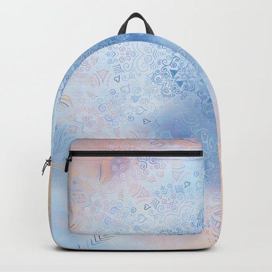 Summer Light Mandala Backpack
