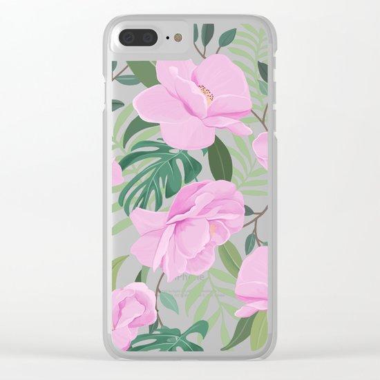 Soft Garden Clear iPhone Case