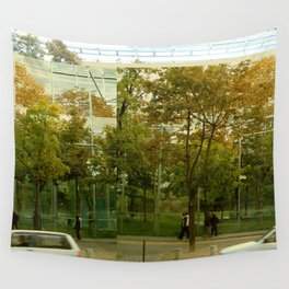 nouvel glitch Wall Tapestry