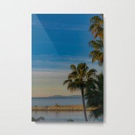 Wedge Sunrise Metal Print
