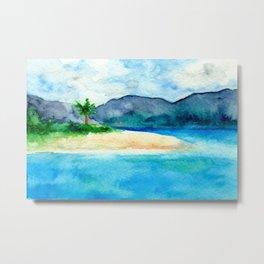 Sandy Cove Metal Print