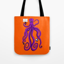 Protest octopus Tote Bag