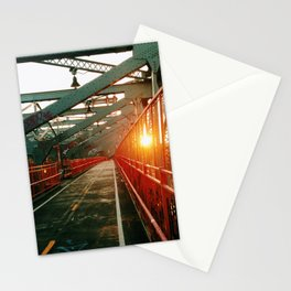 LES Sunset Stationery Cards