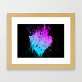 Heartred Framed Art Print