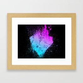 Heartred Framed Art Print