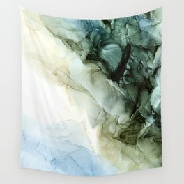 Land and Sky Abstract Landscape Painting Wall Tapestry