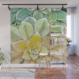 Drought-Resistant Wall Mural