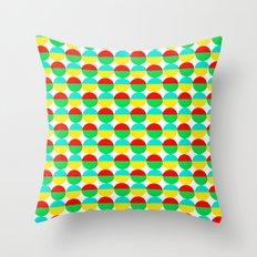 Van Abbe Pattern Throw Pillow