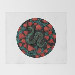 serpent autom Throw Blanket