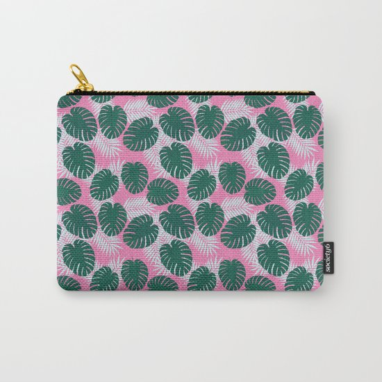 Tropical print  Carry-All Pouch