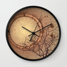 Night Lark. Wall Clock