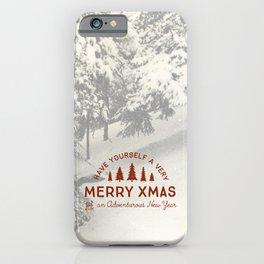 Merry Xmas iPhone Case
