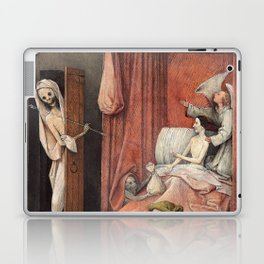 Hieronymus Bosch - Death and the Usurer Laptop & iPad Skin