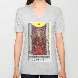 11 - Justice Unisex V-Neck