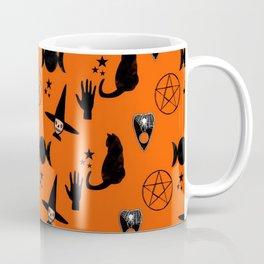 Witchy Halloween Print Coffee Mug