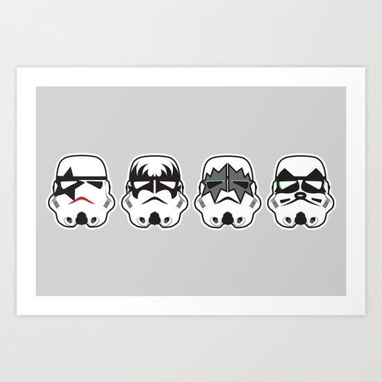 Stormkisstrooper Art Print