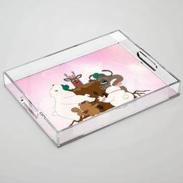 The Magic Tree (Peepoodo) Acrylic Tray