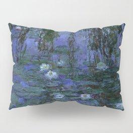 Blue Water Lilies Monet 1916- 1919 Pillow Sham