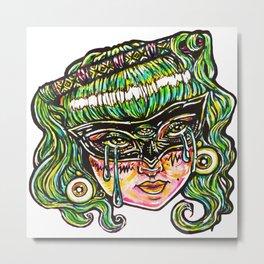 Sad Eyes Metal Print