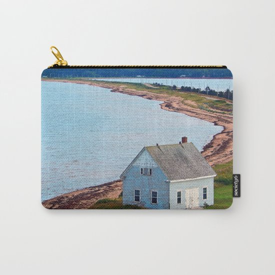 Beach and Causeway, seen from Above Carry-All Pouch