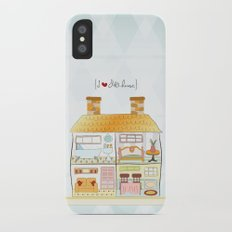 I {❤} Dollhouse Slim Case iPhone X