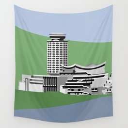 Soviet Modernism: Youth Palace in Yerevan, Armenia Wall Tapestry