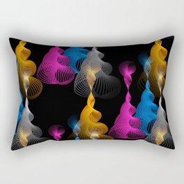 3D - abstraction -36- Rectangular Pillow