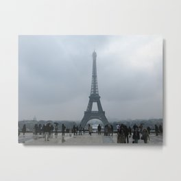 Eiffel Tower. Metal Print