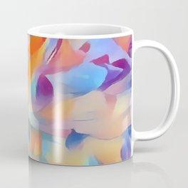 Soft Multi-color Pastel Abstract Coffee Mug