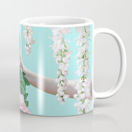 1992 Floral Episodes (Aqua) Coffee Mug