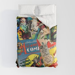 Comics Collage Comforters
