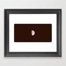 Moon in Sagittarius Framed Art Print